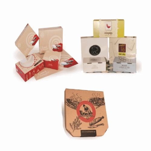 Κουτιά χάρτινα